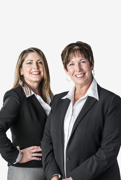 Two professional looking women